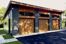 DETACHED GARAGE IDEAS / Public board for all detached garages design ideas. Anything goes!