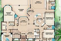 Floor plan ideas / by Paxton D'vonne