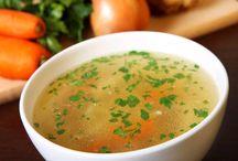 Soupes végétales sans gluten  / sans lactose / sans oeufs
