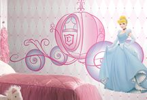 Disney Princess Decals and Wallpaper / A collection of our cutest Disney Princess decals and Wallpaper,  and FYI, decals can be used on Wallpaper!!
