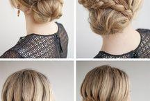 Simple hair for school