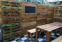 Ecopalet / Diseño sustentable, muebles hechos con madera de pallet usados