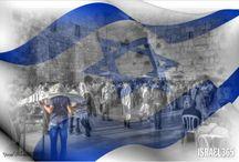 wspaniałe zdjęcia yuval Szlomo izraelskiej flagi nad Ścianą Płaczu.