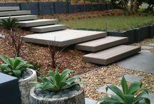 the garden / idea's for our new garden