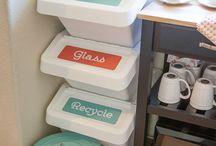 Recycling/garage