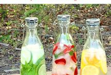 Refreshing Cold Beverages / A collection of wonderfully cooling beverages for hot summer days.