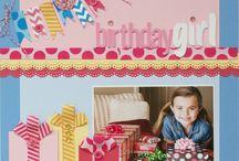Craftiness - Layouts (Birthdays)