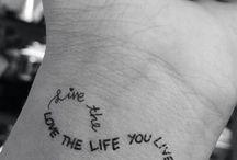 Tattoos / Thinking of...