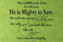 Scripture Vinyl Wall Art / Our Scripture Vinyl Wall Art can be created in almost any size you need.....beautiful for home, church, or schools....