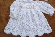 Крестильное Платье Крючком