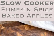 Fall Recipes - Autumnal Tasty Food and Drink / Squash, Pumpkin, Cinnamon... you know the deal. All fall food and drinks go in here!