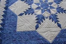 Star Quilts / Paper pieced star quilts