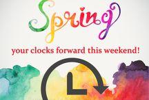 Spring forward and fall backward