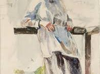 Edna Clarke Hall, nee Waugh / Edna's life seen through her paintings and drawings