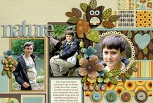 scrapbook layouts / by Debra Busse