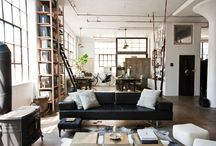 LOFT & INDUSTRIAL STYLE / Project For A New House
