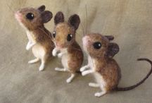 Felted animals & co.