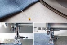Tips and tricks sewing