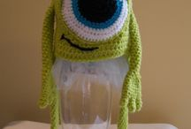Handmade knitted creations
