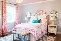 γρι ροζΚοριτσίστικα Δωμάτια