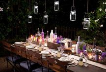 Outdoor Ambience / Life should be enjoyed outdoors at night.