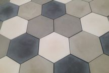Concrete Tiles / Concrete products for floors and walls
