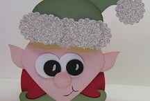 Cards...3-D Curvy Christmas Keepsake Boxes / by Doris Amey-Ketcham