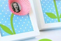 Cadre photo cup cake