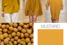Color of the year 2016 MUSTARD