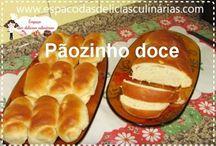 pão doce na máquina de pao