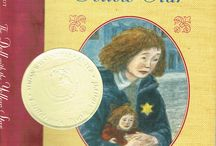 THE DOLL WITH THE YELLOW STAR / This WWII-era chapter book won the Once Upon a World award from the Simon Wiesenthal Center in 2006.  It's about a little girl living in Paris just after the German invasion and occupation.  She receives a doll for her birthday but when she is forced to flee the country, she loses her precious friend...