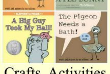 Books: Mo Willems Books and Activities / by Country Fun Child Care
