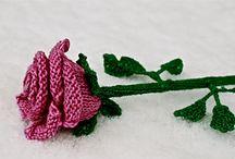 Flowers - Knit
