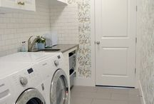 Laundry Room Wallpaper / Beautiful laundry rooms to inspire.