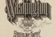sanborn map typography