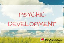 Psychic Development / All about Psychic Development and tons of tips + strategies and fun games that will help you to supercharge your intuition. You will find monster tips, techniques, worksheets, and free resources on how to develop your intuition including divination techniques such as #tarot, #angel cards, #pendulum divination, #clairvoyance, #clairaudience, #animal communication, and so much more!