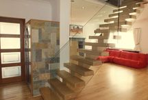 Open Plan Staircases / These Open Plan staircases highlight sophisticated modern decor and style.