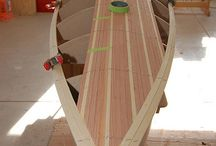 Wood boats build