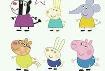peppa pig y otros