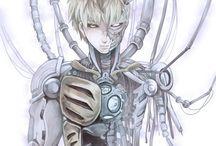 One Punch-Man, Genos, Cyborg