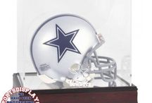 Dallas Cowboys Football Cases / Shop our selection of Dallas Cowboys football display cases.  Each case comes engraved with the Dallas Cowboys logo.  All of our Dallas Cowboys display cases are officially licensed by the NFL.