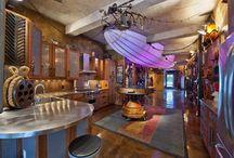 Steampunk interior ideas