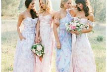 Pastel Wedding Ideas / Pretty pastels for Spring weddings.