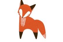 Fox prints &illustrations
