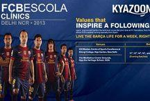 KyaZoonga.com: Register online for FCB Escola Clinic
