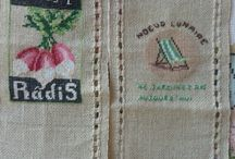 point compte béa / Broderie
