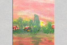 Mom's paintings