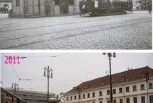 Praga old/now