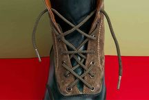 Lace It Up! / DIY steps to tie up your laces in unique ways.