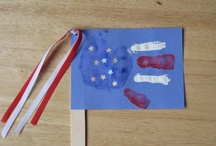 childrens church/ childrens crafts / I like to find fun ideas that I could use, or tweek so I could use them in childrens church. The handprint and footprint crafts are some of my favorites. / by Tina Anderson